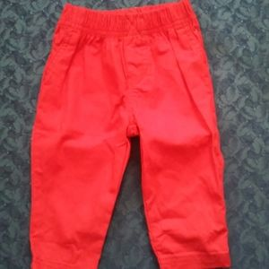 Carter's Red Pants 9m